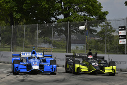 Tony Kanaan, Chip Ganassi Racing Honda, Charlie Kimball, Chip Ganassi Racing Honda
