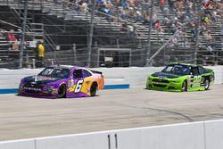 Darrell Wallace Jr., Roush Fenway Racing, Ford; Ryan Blaney, Team Penske, Ford