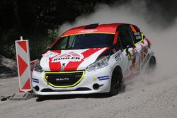 Niki Bühler, Gabriele Zanni, Peugeot 208 R2, Lugano Racing Team