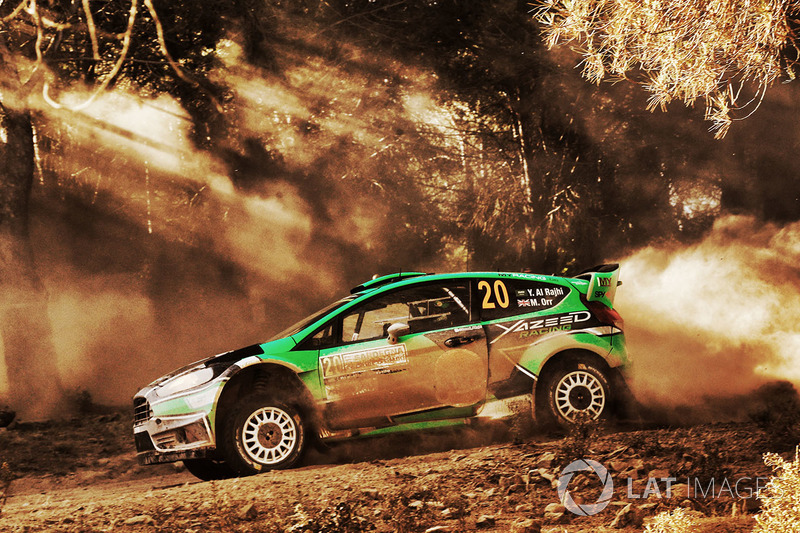 Yazeed Al Rajhi, Michael Orr, Ford Fiesta RS WRC