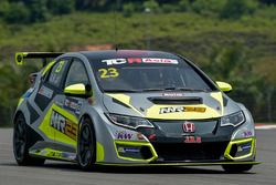 Abdul Kaathir, R Engineering, Honda Civic TCR