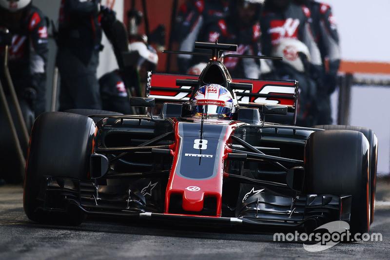 #8 Romain Grosjean, Haas F1 Team VF-17