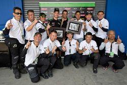 Jonathan Rea, Kawasaki Racing con dei tifosi Kawasaki