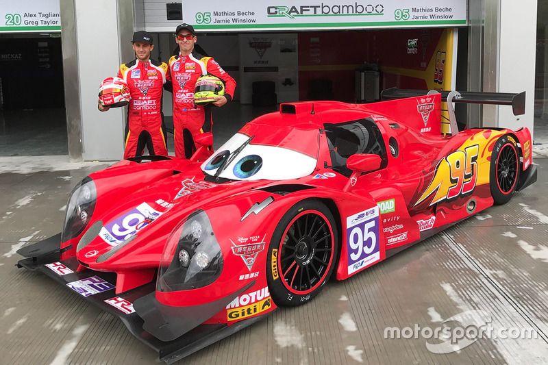 #95 Craft Bamboo Racing Ligier JS P3: Mathias Beche, James Winslow
