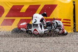 Tetsuta Nagashima, SAG Racing Team crashes