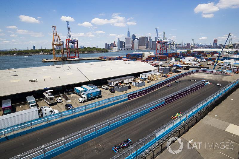 Renn-Action beim ePrix New York