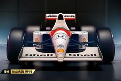 McLaren MP4/6 (F1 2017)