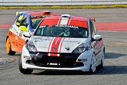 Stephan Zbinden, Renault Clio III Cup, Motorsport Team Zbinden, vor Daniel Borer, Renault Clio RS II