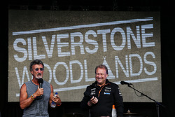 Robert Fernley, Stellvertertender Force-India-Teamchef, mit Eddie Jordan
