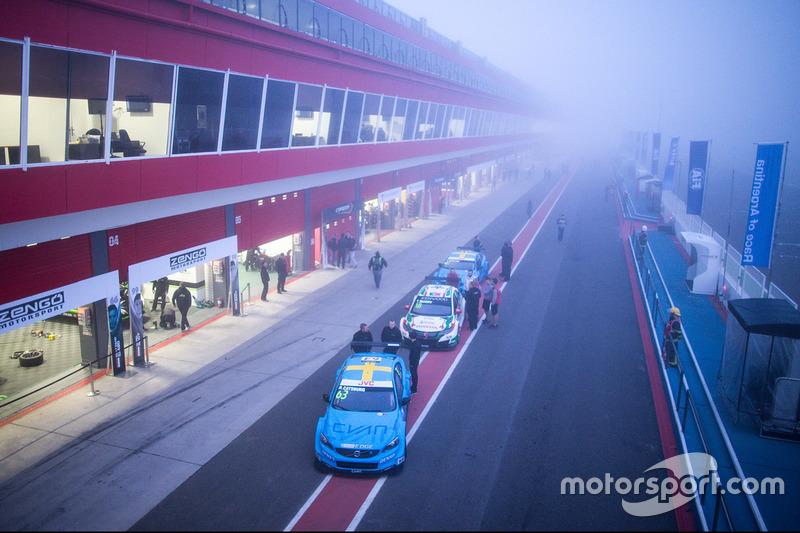Ники Катсбург, Polestar Cyan Racing, Volvo S60 Polestar TC1