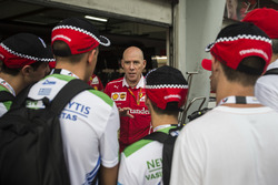 Jock Clear, Ferrari Chief Engineer talks on the F1 in Schools garage tour