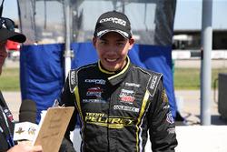Ganador de la pole Juan Piedrahita, Team Pelfrey