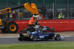 Ральф Арон, Hitech Grand Prix, Dallara F317 – Mercedes-Benz, и Фердинанд Габсбург, Carlin, Dallara F