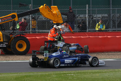 Ralf Aron, Hitech Grand Prix, Dallara F317 - Mercedes-Benz; Ferdinand Habsburg, Carlin, Dallara F317