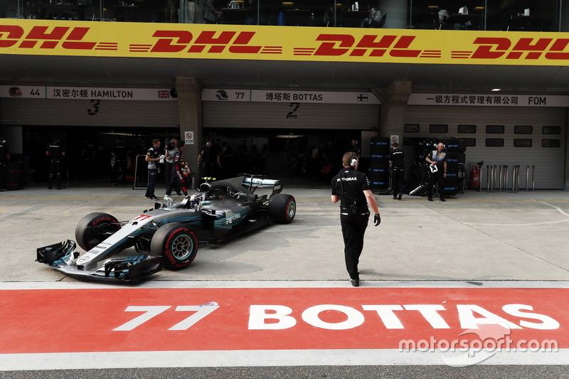8 місце — Валттері Боттас, Mercedes — 102