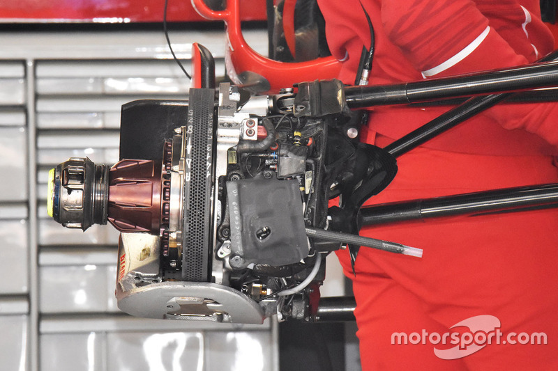 Передні гальма Ferrari SF70H