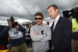 Fernando Alonso, Townsend Bell, grid