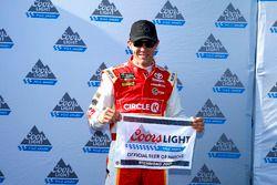 Polesitter Matt Kenseth, Joe Gibbs Racing Toyota