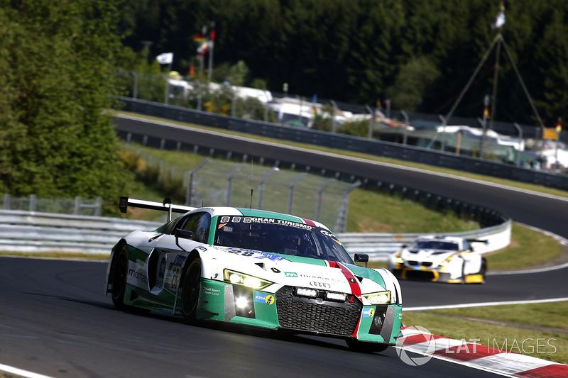 9. #28 Audi Sport Team Land-Motorsport, Audi R8 LMS