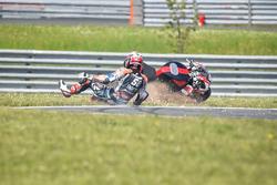 #50 Team April Moto Motors Events, Honda CB R1000 RR: Gregory Leblanc, Grégory Fastré, Matthieu Lagr