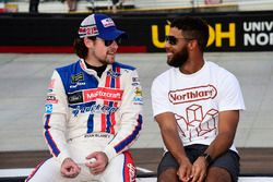 Ryan Blaney, Wood Brothers Racing Ford, mit Darrell Wallace Jr.