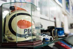 Tour en el garaje de Nelson Piquet