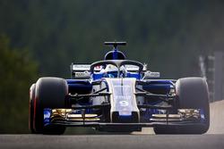 Marcus Ericsson, Sauber C36, mit Halo