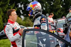 Kris Meeke, Citroën C3 WRC, Citroën World Rally Team, et Julien Ingrassia, M-Sport World Rally Team