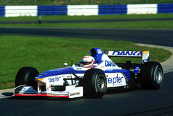 Мартин Брандл за рулем автомобиля Arrows F1