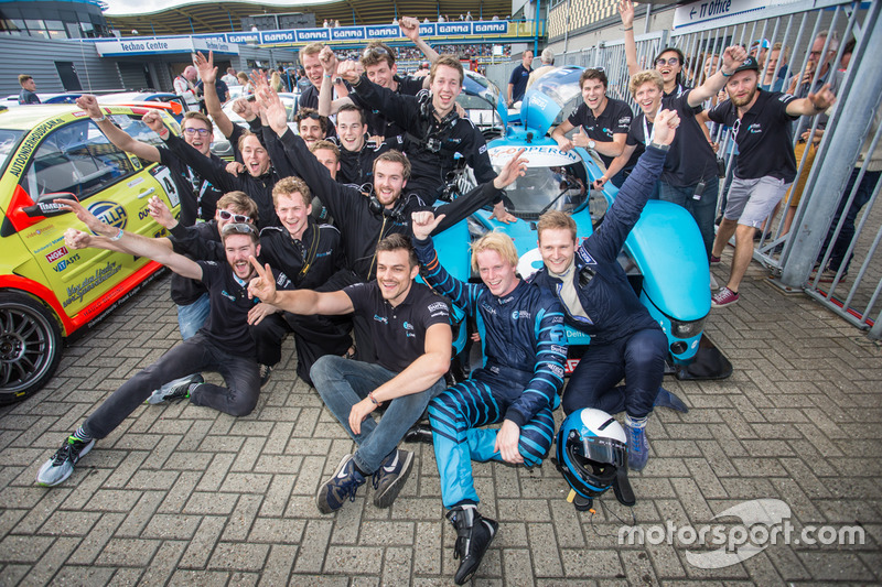 Leo van der Eijk, Jan Bot, Forze Hydrogen Racing Team Delft, Forze VII with the team
