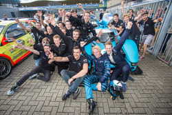 Leo van der Eijk, Jan Bot, Forze Hydrogen Racing Team Delft, Forze VII with the team