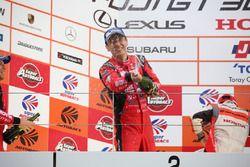 Podium: second place #23 Nismo Nissan GT-R Nismo GT3: Tsugio Matsuda, Ronnie Quintarelli
