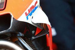 Marc Marquez, Repsol Honda Team, fairing detail