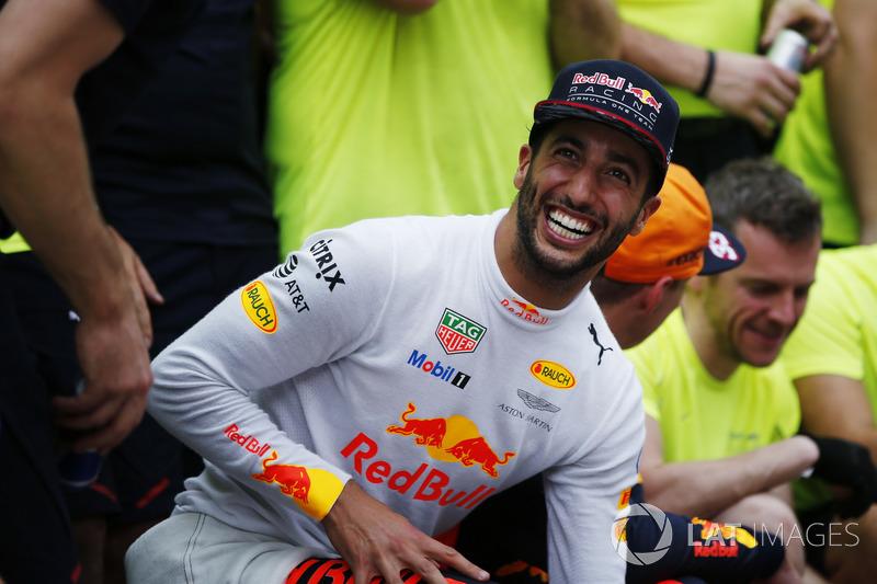 3. Даниэль Риккардо, Red Bull Racing