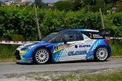 Simone Miele, David Castiglioni, Citroen DS3 WRC