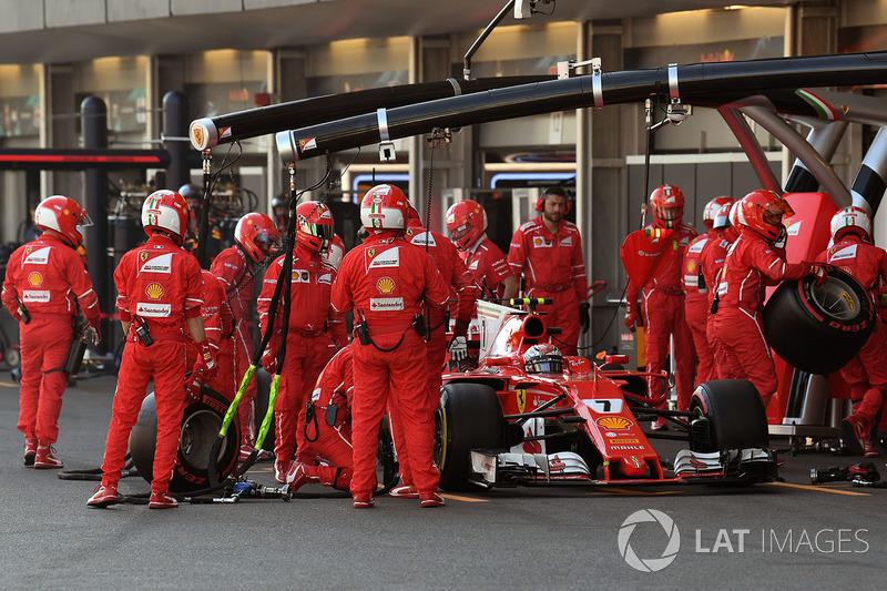 BONUS TRACK - Kimi Raikkonen, Ferrari SF70H