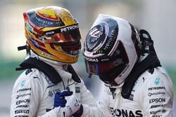 Polesitter Lewis Hamilton, Mercedes AMG F1, Valtteri Bottas, Mercedes AMG F1