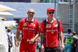 Kimi Raikkonen, Ferrari y su entrenador, Mark Arnall