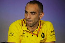 Cyril Abiteboul, Managing Director, Renault Sport F1 Team, in the Team Principals' Press Conference