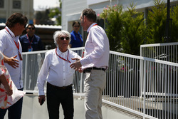 Bernie Ecclestone, Chairman Emeritus of Formula 1, Sean Bratches, Managing Director of Commercial Operations, Formula One Group