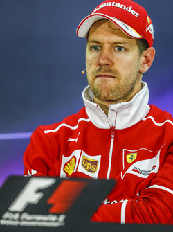 Post-race press conference: race winner Sebastian Vettel, Ferrari