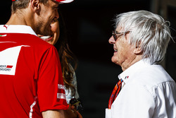 Sebastian Vettel, Ferrari, Bernie Ecclestone, Formula 1