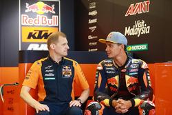 Aki Ajo, Red Bull KTM Ajo, Teamchef; Bo Bendsneyder, Red Bull KTM Ajo