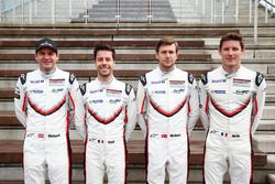 #91 Porsche Team, Porsche 911 RSR: Richard Lietz, Frédéric Makowiecki; #92 Porsche Team, Porsche 911