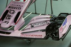 Sahara Force India VJM10 front wing detail