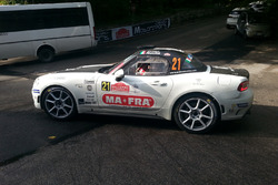 Andrea Nucita, Marco Vozzo, Fiat 124 Abarth RGT