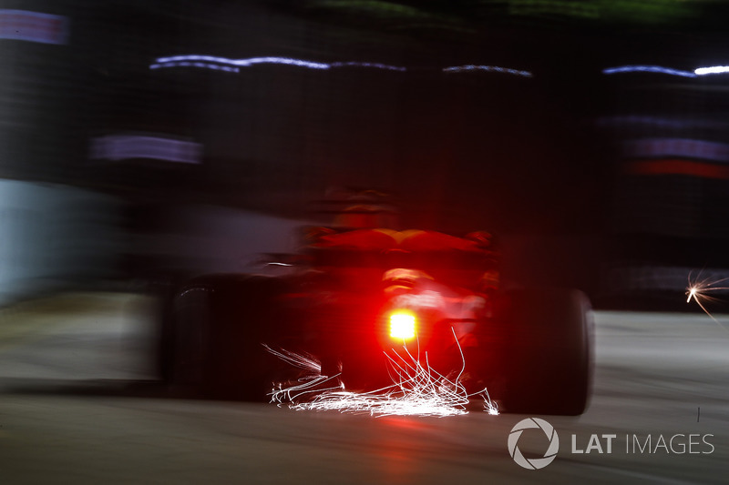 Sparks fly on the circuit