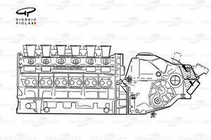 Lola LC90 1990 Lamborghini engine