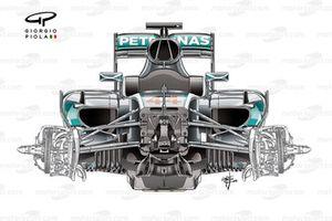 Шасси Mercedes F1 W07