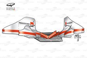 Боковые дефлекторы и рассекатель воздушного потока от Ferrari F2003-GA (654)
